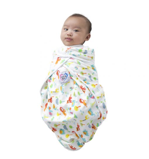 2019 New Gender Neutral Cross My Heart Swaddle