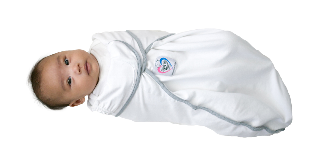 Cross My Heart Swaddle White Swaddle