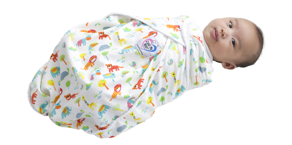 2019 Swaddle Baby Facing Right